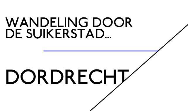 letters zien in gebouwen van dordrecht