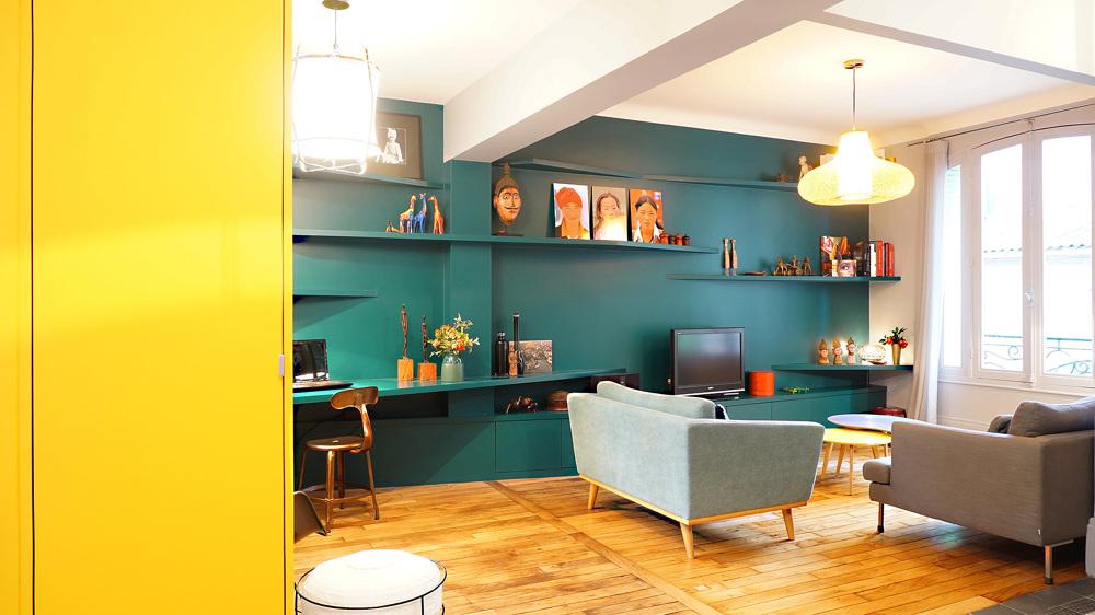 un mur en cache un autre architecte paris 18 me bardin architecte architecture int rieur paris. Black Bedroom Furniture Sets. Home Design Ideas